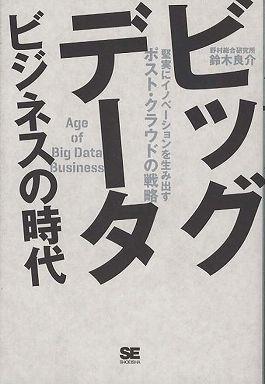 ビッグデータビジネスの時代―堅実にイノベーションを生み出すポスト・クラウドの戦略